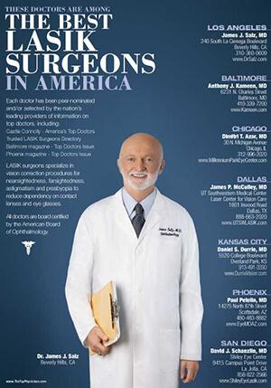 The Best LASIK Surgeons in America Magazine